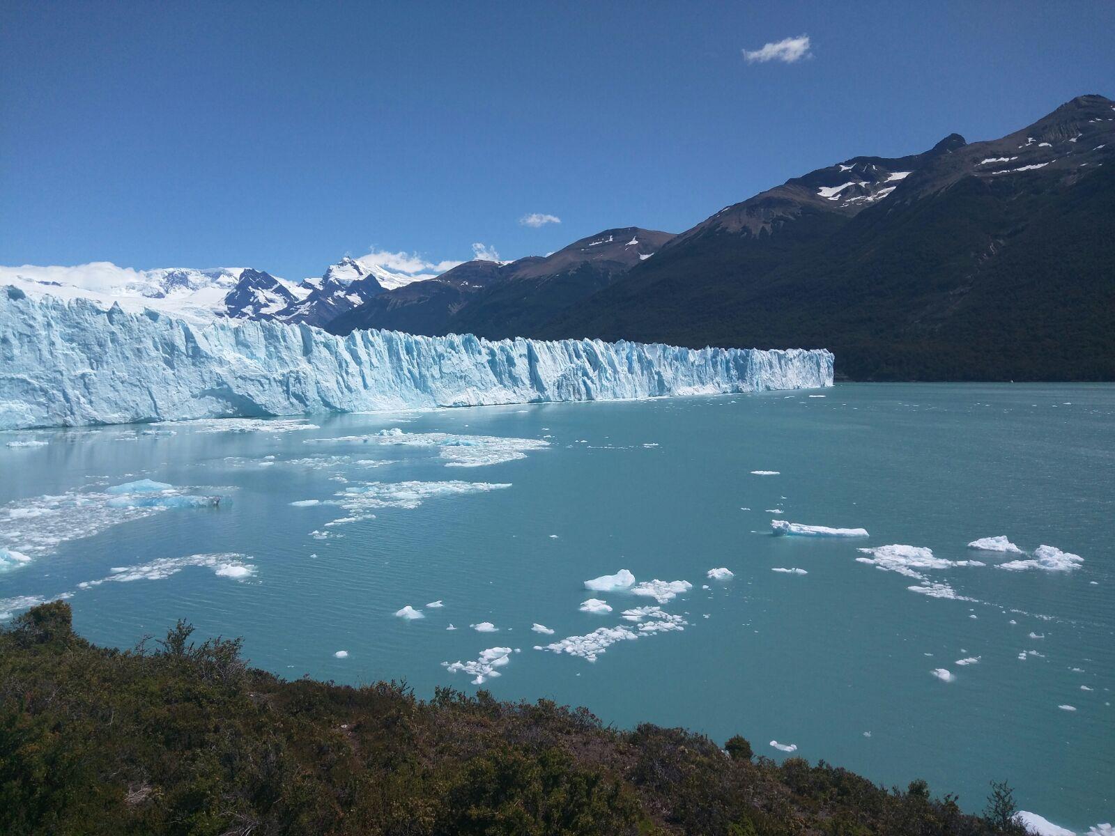 Stunning glacier